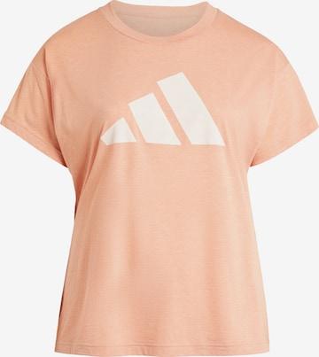 ADIDAS PERFORMANCE Sportshirt 'Winners' in Orange