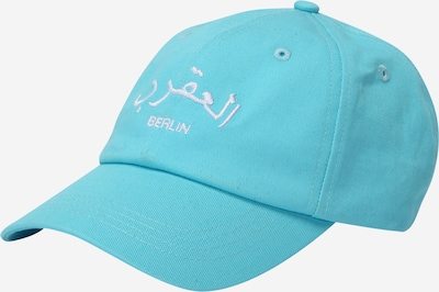 VIERVIER Pet 'Nila' in de kleur Turquoise, Productweergave