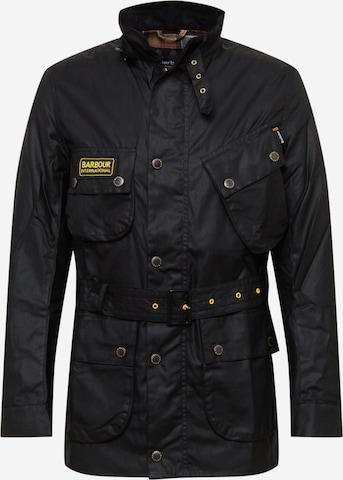 Barbour International Jacke in Schwarz