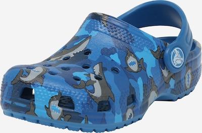 kék / királykék / szürke Crocs Nyitott cipők 'Shark', Termék nézet