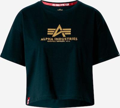 ALPHA INDUSTRIES Тениска в тъмнозелено, Преглед на продукта