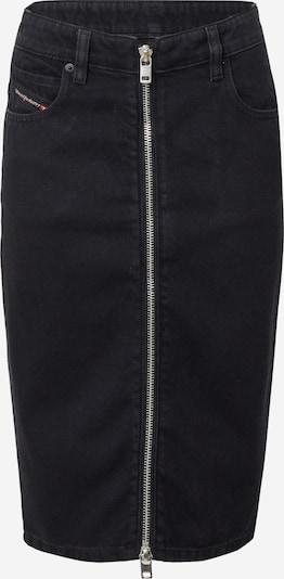 DIESEL Φούστα σε μαύρο ντένιμ, Άποψη προϊόντος