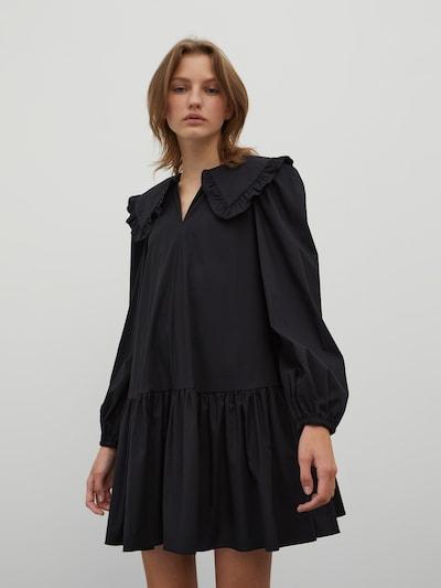 Rochie tip bluză 'Katarina' EDITED pe negru, Vizualizare model