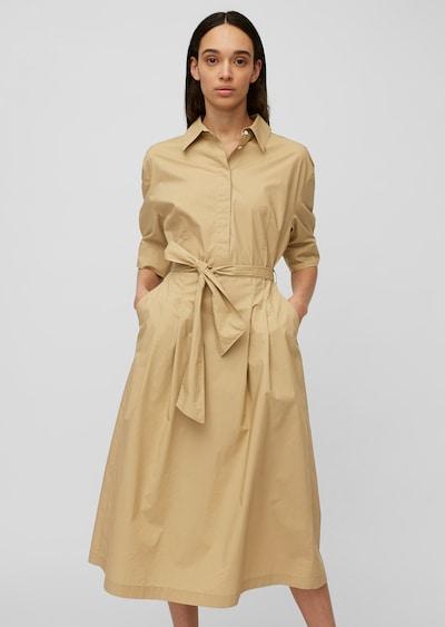 Marc O'Polo Kleid in hellbraun, Modelansicht