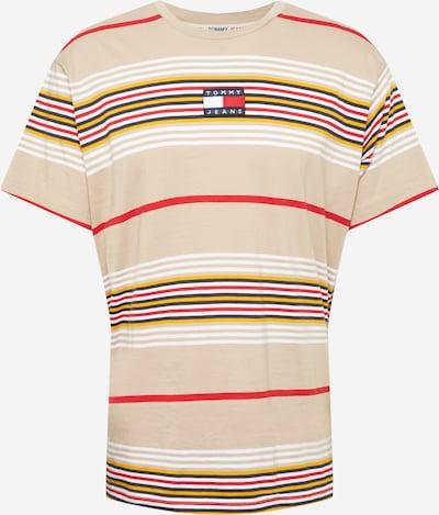 Marškinėliai iš Tommy Jeans, spalva – tamsiai mėlyna / aukso geltonumo spalva / pudros spalva / melionų spalva / balta, Prekių apžvalga