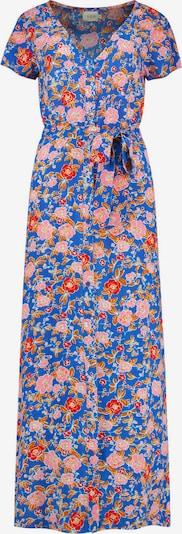 Shiwi Blousejurk 'BRAZIL' in de kleur Blauw / Sinaasappel / Rosa, Productweergave