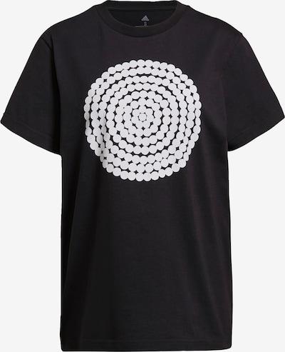 ADIDAS PERFORMANCE Funktionsshirt 'Marimekko' in schwarz / weiß, Produktansicht