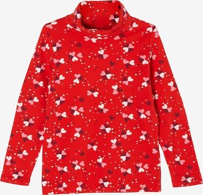 s.Oliver Shirt in pink / rot / weiß, Produktansicht