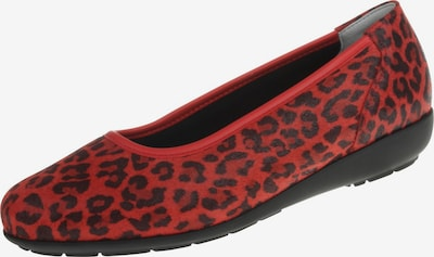 Natural Feet Ballet Flats in Red, Item view