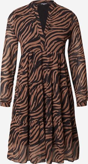 ZABAIONE Vestido 'Aurelia' en marrón / negro, Vista del producto