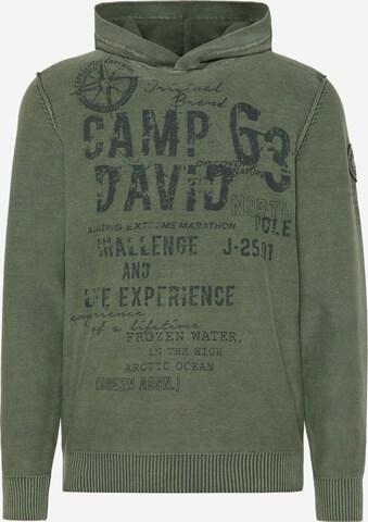CAMP DAVID Pullover in Grün
