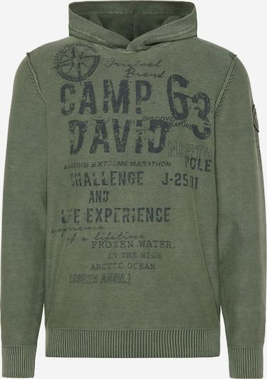CAMP DAVID Sweater in Olive, Item view