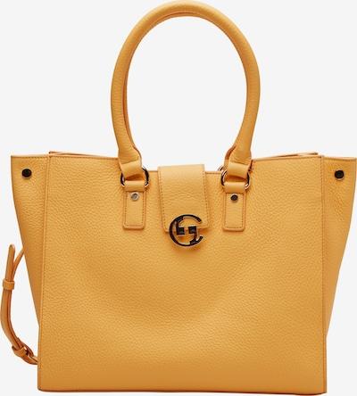 COMMA Eleganter Shopper aus Echtleder in gelb, Produktansicht
