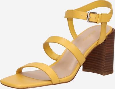 ALDO Sandaler med rem 'HAVANA' i gul, Produktvisning