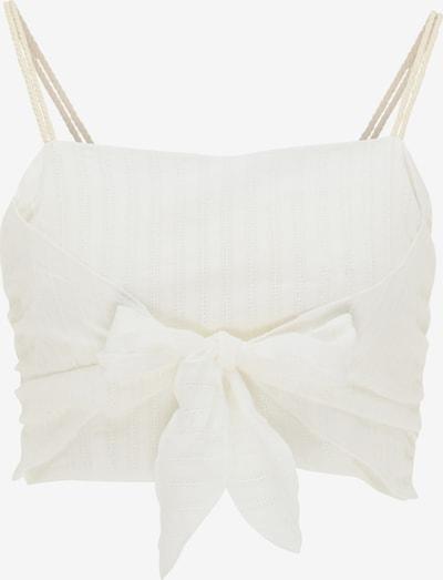 MYMO Romantisches Top in weiß, Produktansicht