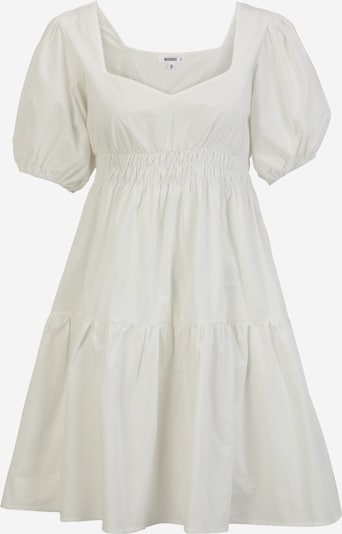 Rochie tip bluză Missguided Maternity pe alb, Vizualizare produs