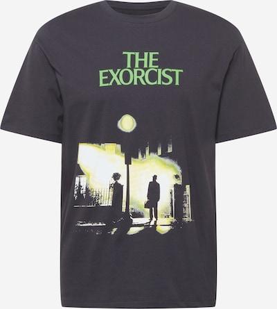 JACK & JONES Shirt 'EXORCIST' in Neon yellow / Light green / Black / White, Item view