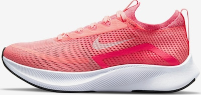 NIKE Running Shoes 'Zoom Fly 4' in Coral / Pink / White, Item view