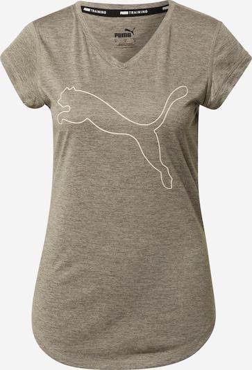 PUMA Koszulka funkcyjna w kolorze ciemnoszary / białym, Podgląd produktu