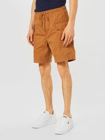 LEVI'S Klapptaskutega püksid, värv pruun