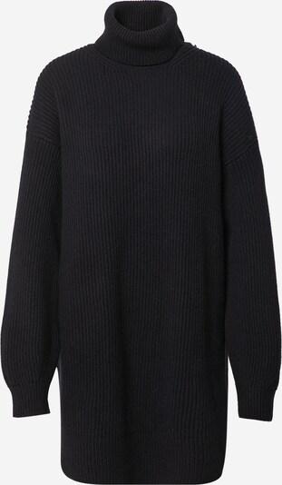 DRYKORN Pletena haljina 'DANY' u crna, Pregled proizvoda