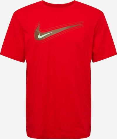 Tricou Nike Sportswear pe auriu / roșu / alb, Vizualizare produs