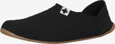 Living Kitzbühel Hausschuh in schwarz, Produktansicht