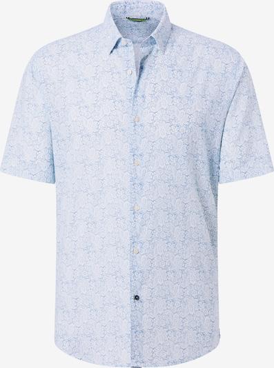 PIERRE CARDIN Overhemd in Lichtblauw / Donkerblauw / Wit Dfcw9G9m