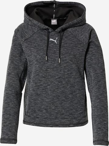 PUMA Athletic Sweatshirt 'Evostripe' in Black