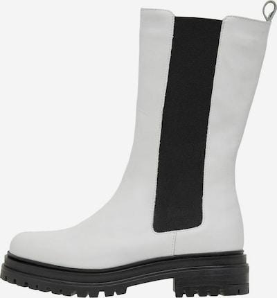 Bianco Laarzen 'Darlene' in de kleur Zwart / Wit, Productweergave