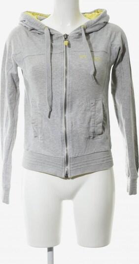 phard Kapuzensweatshirt in L in pastellgelb / hellgrau, Produktansicht