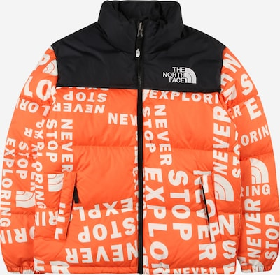 THE NORTH FACE Outdoor jacket in Orange red / Black / White, Item view