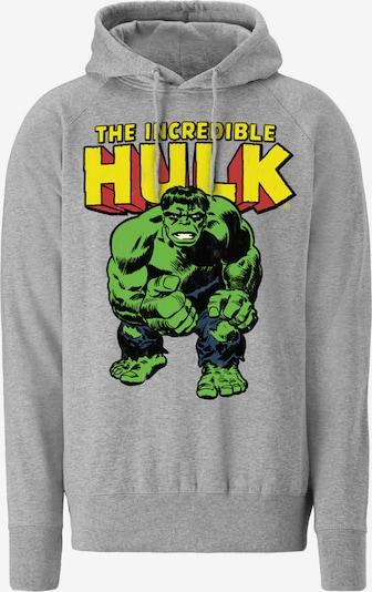 LOGOSHIRT Kapuzenpullover 'Hulk' in grau, Produktansicht