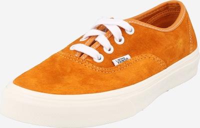 VANS Zemie brīvā laika apavi 'Authentic ', krāsa - konjaka toņa / tumši oranžs, Preces skats