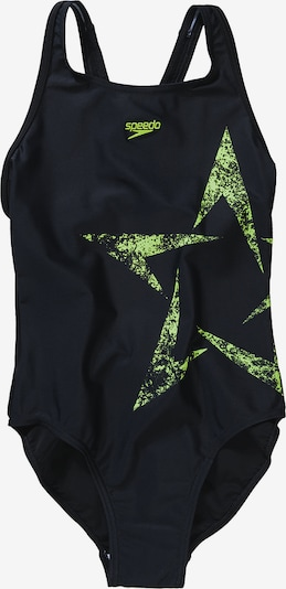 SPEEDO Badeanzug in apfel / schwarz, Produktansicht