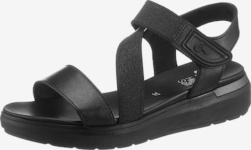 ARA Sandale in Schwarz
