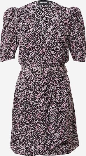 The Kooples Robe en rose / noir / blanc, Vue avec produit