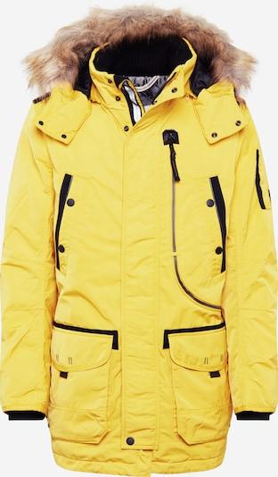TOM TAILOR Parka in braun / gelb, Produktansicht