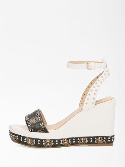 GUESS Sandale in beige / braun, Produktansicht