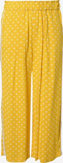 s.Oliver Hose in gelb / weiß, Produktansicht