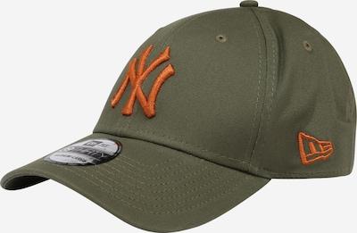 Cappello da baseball 'LEAGUE ESSENTIAL 39THIRTY' NEW ERA di colore verde scuro / arancione scuro, Visualizzazione prodotti