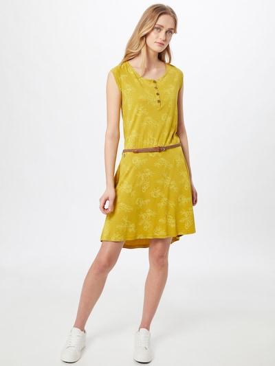 Ragwear Kleid 'ZEPHIE' in gelb / honig, Modelansicht