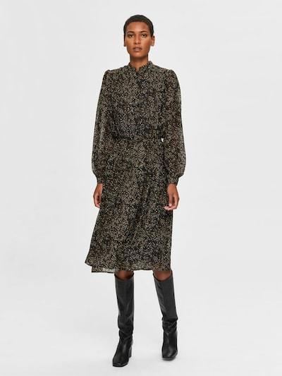 SELECTED FEMME Kleid in mischfarben / schwarz, Modelansicht