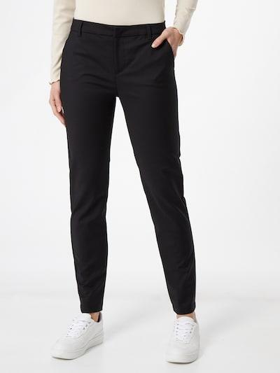 VERO MODA Chino trousers in black, View model