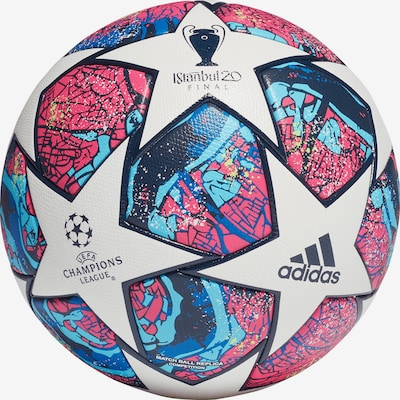 ADIDAS PERFORMANCE Ball in blau / pink / weiß, Produktansicht