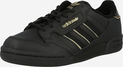ADIDAS ORIGINALS Sneaker 'CONTINENTAL 80' in gold / schwarz, Produktansicht