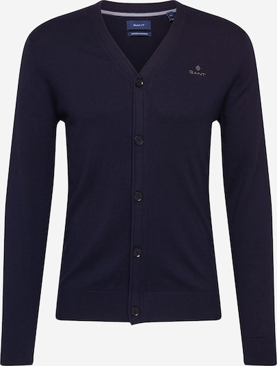 GANT Knit cardigan in dark blue, Item view