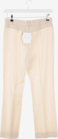 Chloé Chinos in L in beige, Produktansicht