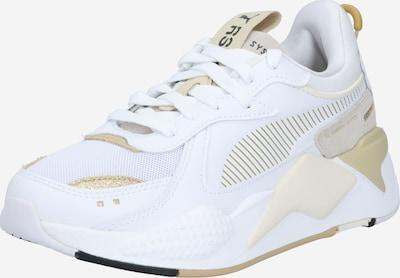 PUMA Sneaker 'RS-X Mono Metal' in beige / gold / weiß, Produktansicht