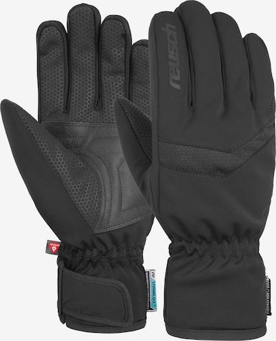 REUSCH Fingerhandschuhe 'Ruben' in schwarz, Produktansicht